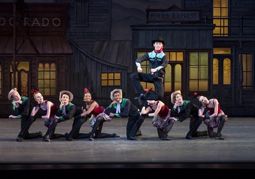 ニューヨーク・シティ・バレエ団のKJ Takahashiさん
