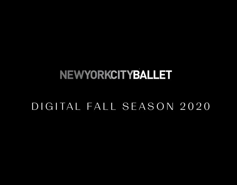 ニューヨーク・シティ・バレエ団「デジタル・フォール・シーズン」